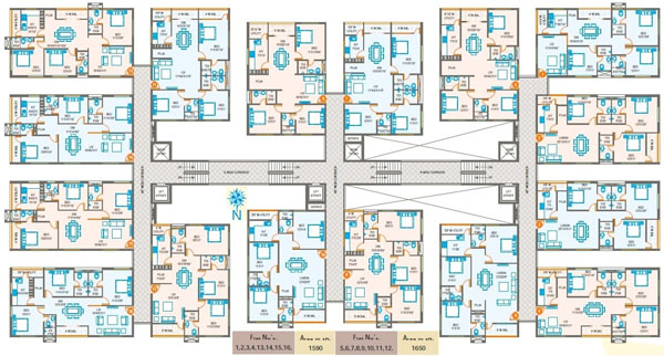 Oxygen Towers at Venkateswara Nagar, apartments for sale in Rajahmundry | thoughtful floor plans